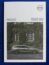 6 pagine VOLVO v60 accessorio prospetto brochure di 2012