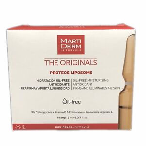 Martiderm The Originals PROTEOS Liposome Ampoules | 10amp |  Exp. 07/2022  🇺🇸