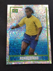 MERLIN 2006 WORLD CUP RONALDINHO BRAZIL FOIL NO 330
