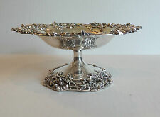 GORGEOUS AMERICAN STERLING SILVER TAZZA, BLACK, STARR & FROST, NEW YORK , c.1890
