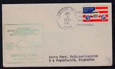 "Erstflug PAN AM ""Houston - Frankfurt"" 01.07.1978 FAM18-476F"