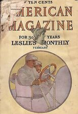 1906 American February - Heart of the automobile; New automobiles; Chicago Court
