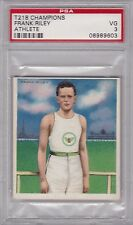1910 T218 Mecca Champions FRANK RILEY PSA 3 VG   ATHLETE Track and Field