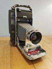 Razzle 4x5 Large Format Camera Polaroid 900 Schneider 150mm 5.6 Symmar like 110b