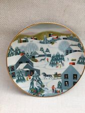 CHRISTMAS, PLATE, BETSEY BATES, HOME FOR CHRISTMAS, SPECIAL EDITION, DECORATION
