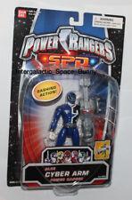 "Bandai Power Rangers SPD Original 6"" Blue Ranger Cyber Arm Figure Carded"