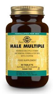 Solgar Male Multiple Multivitaminico E Minerale (60) Compresse Bbe 10/2022