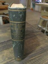 DISEASES INTESTINES Book c1920 Bassler , Anthony Rare 1st Edition illustrated
