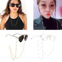 Eyeglass Glasses Strap Sunglasses Chain Beaded Cord Holder Neck Band Fashion New