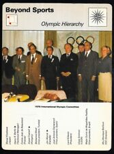 1977 Sportscaster Card Beyond Sports Olympic Hierarchy # 06-19 NRMINT.