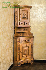 Voglauer Anno 1600 Corner Country Furniture Wardrobe Living Room Cabinet