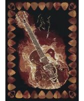 Themed Area Rug - Guitar 1-Pc
