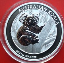 "Australien: 1 Unze ""Koala"" 2013, 1 Dollar Silber  #F2144, Perth Mint"