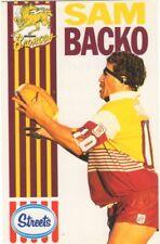 Australian Rugby League - Sam Backo (Streets Dairy)