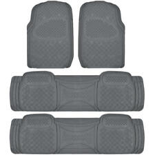 Car Floor Mat for 3 Row SUV Gray Extra Heavy Duty Protection Trimmable Fit⭐⭐⭐⭐⭐