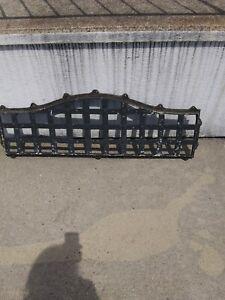 Vintage Cast Iron Bench Back