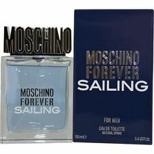 Forever Sailing by Moschino Men 3.4 / 3.3 oz Spray Edt New in Sealed Box