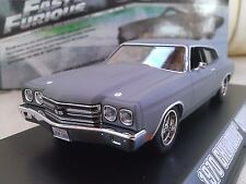 FAST AND FURIOUS de Dom 1970 chevrolet chevelle ss COCHE METAL 1/43 GREENLIGHT