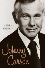 JOHNNY CARSON by Henry Bushkin FREE Shipping  hardcover book Tonight Show