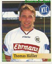 082 THOMAS HASSLER GERMANY KARLSRUHER SC STICKER FUSSBALL 1995 PANINI