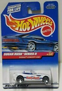 1998 Hot Wheels Sugar Rush II Series Dodge Concept Car 5DOT 972
