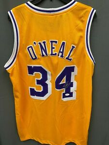 Shaquille O'Neal #34 Signed Lakers Jersey Autographed AUTO JSA COA Sz XL