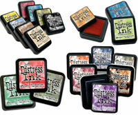 """Tim Holtz Distress Ink Pad 3""""x3"""" Full Size (Choose  Your Colour)"""