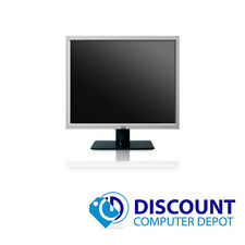 "Name Brand 17"" Monitor LCD for Desktop Computer PC (Grade B) - Lot(s) available"