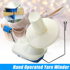 Swift Yarn Fiber String Knitting Roll Ball Wool Winder Holder Hand Operated
