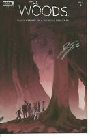 The Woods 1 Incentive Variant NM 2014 Signed by James Tynion Auto Boom