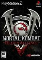 Mortal Kombat: Deadly Alliance - PlayStation 2 - Video Game - VERY GOOD
