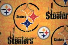 LAST 1-NFL PITTSBURGH STEELERS PRINTED FLEECE STANDARD PILLOW CASE - 20X25