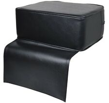Black Barber Beauty Salon Spa Equipment Styling Chair Child Booster Seat Cushion