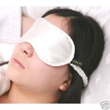 Jasmine Silk Pure Silk Filled Sleep Eye Mask sleeping blindfold IVORY