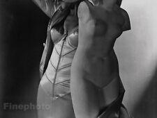 1940/92 CORSET Fashion FEMALE NUDE Lingerie Woman Photo Art Decor New York HORST