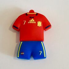 Minigz Spain Football Strip Usb Stick 32gb Memory Flash Drive Pc Computer Soccer