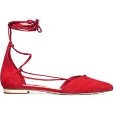 Schutz Toor Flats Size 8B Summer Red