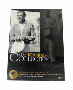 GOLF DVD THE BEN HOGAN COLLECTION THE OFFICIAL THREE DISC COLLECTION BRAND NEW.