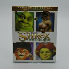 New listing Shrek: 1-4 Collection (Blu-ray Disc, 2016, 4-Disc Set)