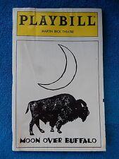 Moon Over Buffalo - Martin Beck Theatre Playbill w/Ticket - May 1996 - Burnett