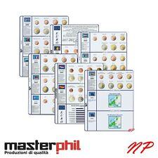 EURO ANNATE COMPLETE Raccoglitore Custodie Fogli inserti Kit Album: Masterphil 2
