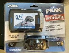 "Brand New Peak Digital Wireless Backup Camera 3.5"" Monitor Car SUV Truck"