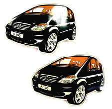 AUTO Pin / Pins - MERCEDES BENZ A-KLASSE A190 / 2 PINS!!!!!!! (4054B)