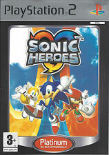 SONIC HEROES for Playstation 2 PS2 - Platinum