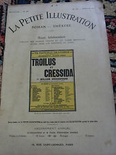 LA PETITE ILLUSTRATION N°34 octobre 1913 Old french literary & theater review
