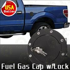 Gas Fuel Cap Door W/Lock For 99-06 Chevrole Silverado GMC Sierra 1500 2500 3500