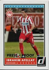 Donruss Soccer 2015 Silver Parallel Base Card [199] #78 Ibrahim Afellay