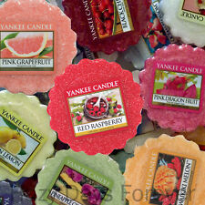 10 SCENTED YANKEE WAX TARTS Fruit Mix SCENTED TARTLETS Fruity Mixture