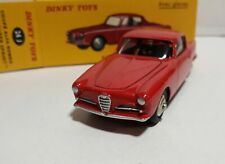 Alfa Romeo 1900 Super Sprint Red Model 1/43 ATLAS Dinky 24J Boite