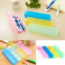 Travel Camping Hiking Toothbrush & Toothpaste Holder Box Protect Portable